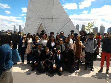 WBS Youth and Other Youth at The United Nations Remebering Slavery May 12, 2017