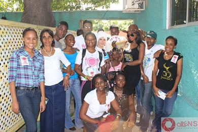Safiyya/WBS in partnership with Keturah Hamilton and Jordan Bennett for Feeding of the 5000 in poverty stricken areas of Jamaica.